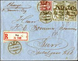 5655149: Schweiz Weltpostverein - Briefe Posten