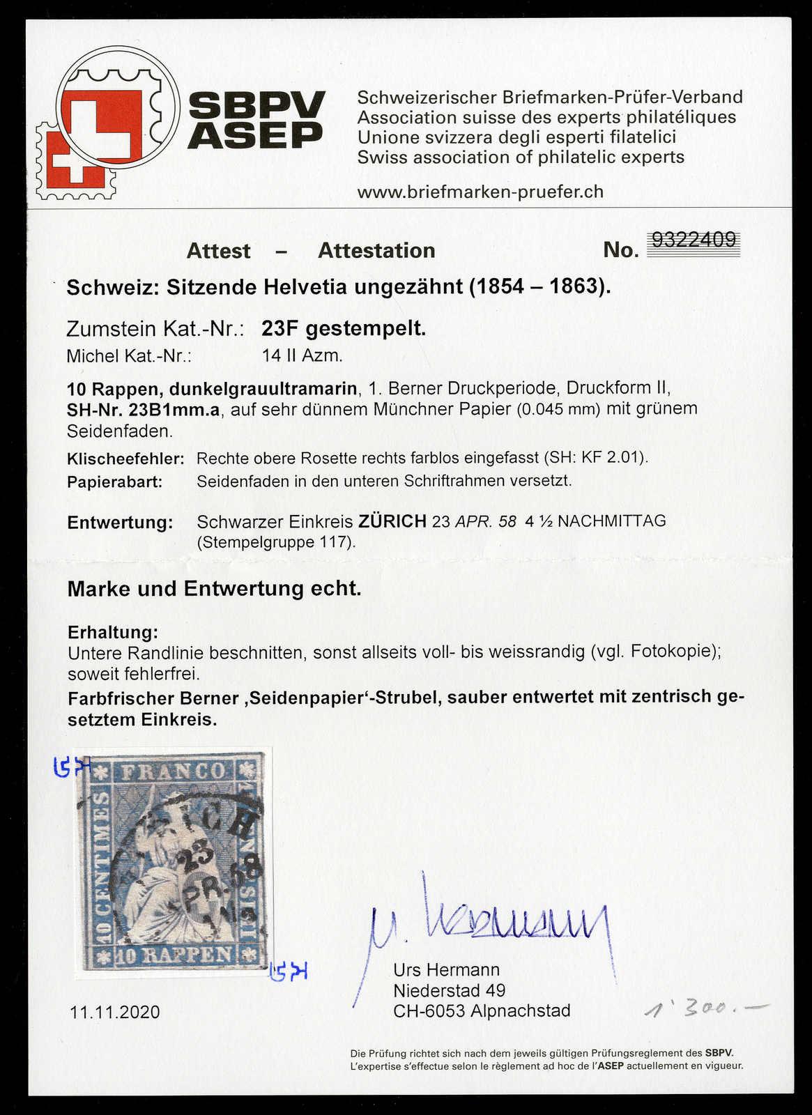 Lot 62 - sammlungen und posten sammlungen und posten altschweiz -  Rolli Auctions Auction #68 Day 1