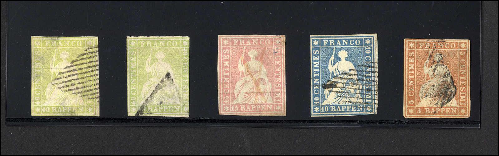 Lot 42 - sammlungen und posten sammlungen und posten altschweiz -  Rolli Auctions Auction #68 Day 1