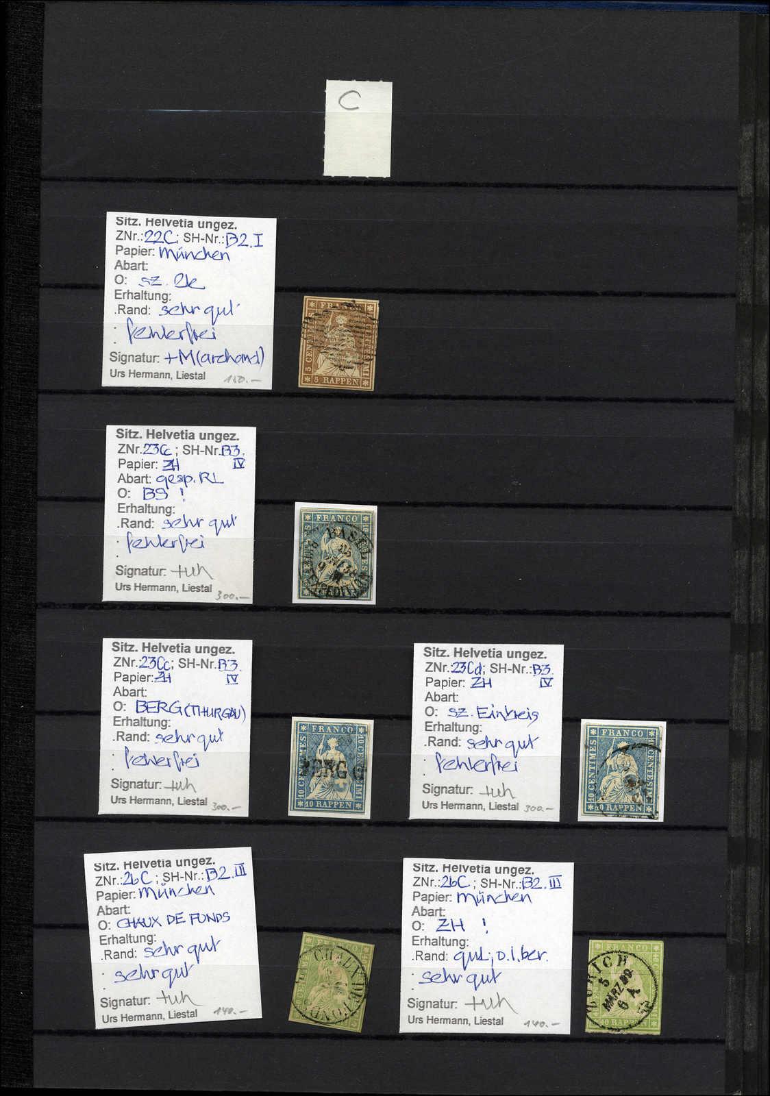 Lot 43 - sammlungen und posten sammlungen und posten altschweiz -  Rolli Auctions Auction #68 Day 1