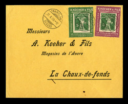 5712: Switzerland Kocher stamps - Stamps on private order