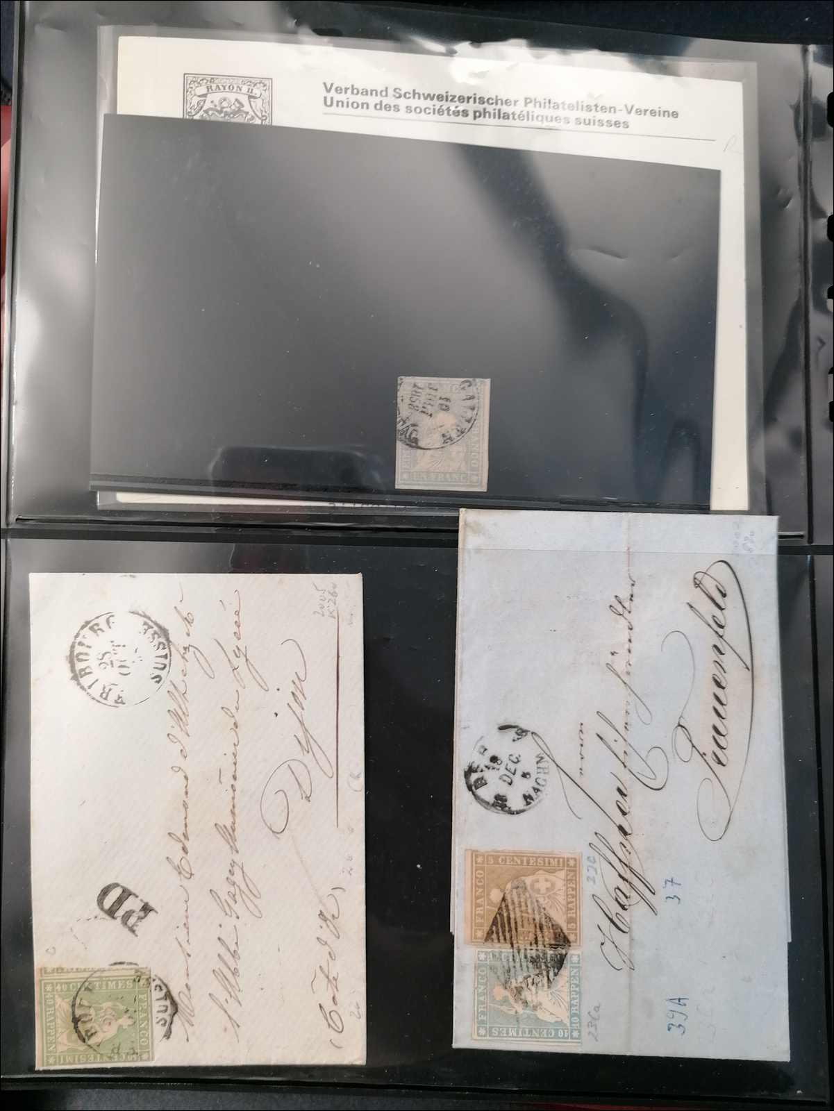 Lot 37 - sammlungen und posten sammlungen und posten altschweiz -  Rolli Auctions Auction #68 Day 1