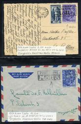 7161: Sammlungen und Posten Italien mit Gebieten - Briefe Posten