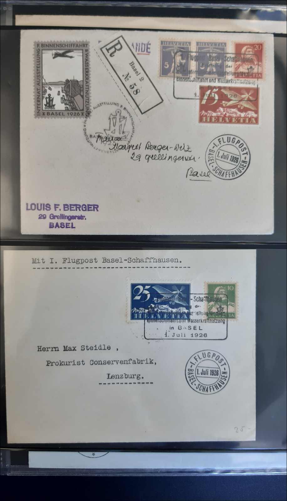 Lot 184 - schweiz schweiz -  Rolli Auctions Auction #68 Day 1