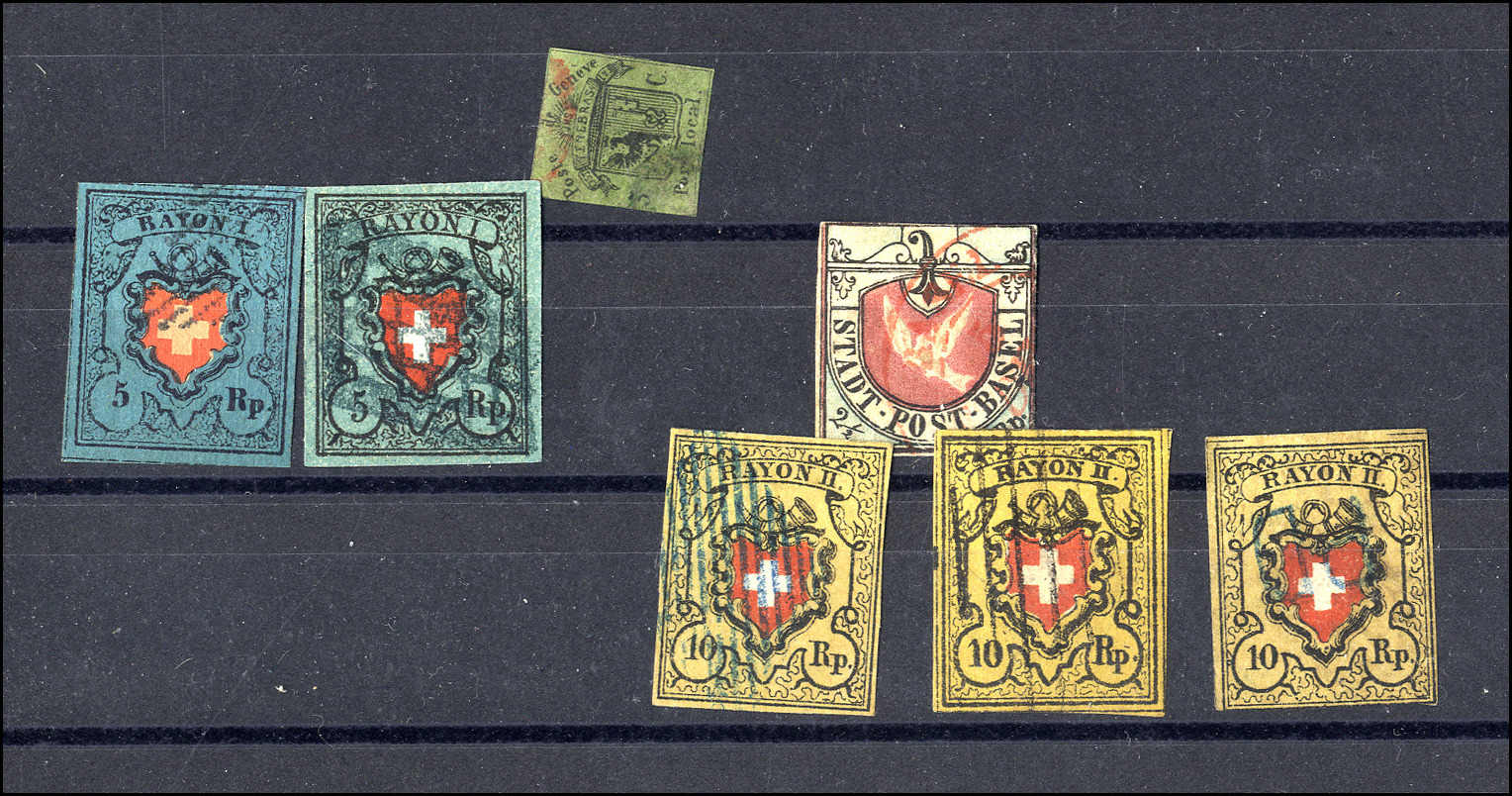 Lot 2 - sammlungen und posten sammlungen und posten altschweiz -  Rolli Auctions Auction #68 Day 1