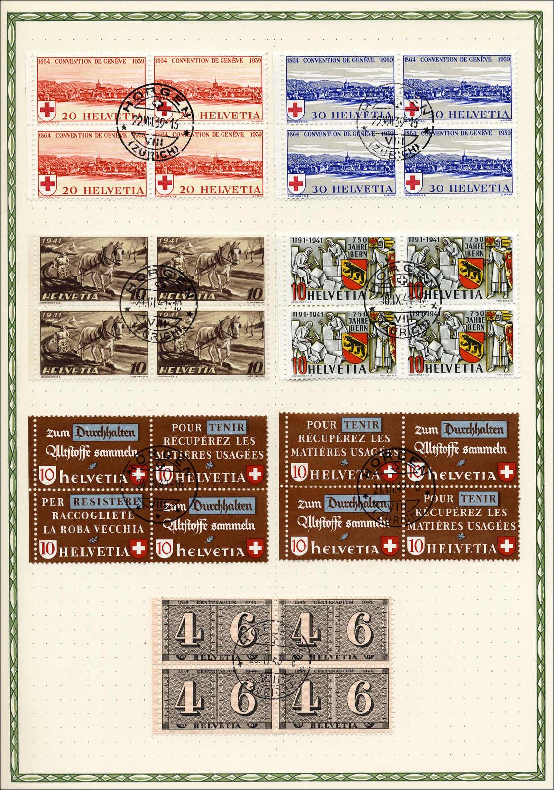 Lot 149 - schweiz Schweiz Freimarken nach 1907 -  Rolli Auctions Auction #68 Day 1