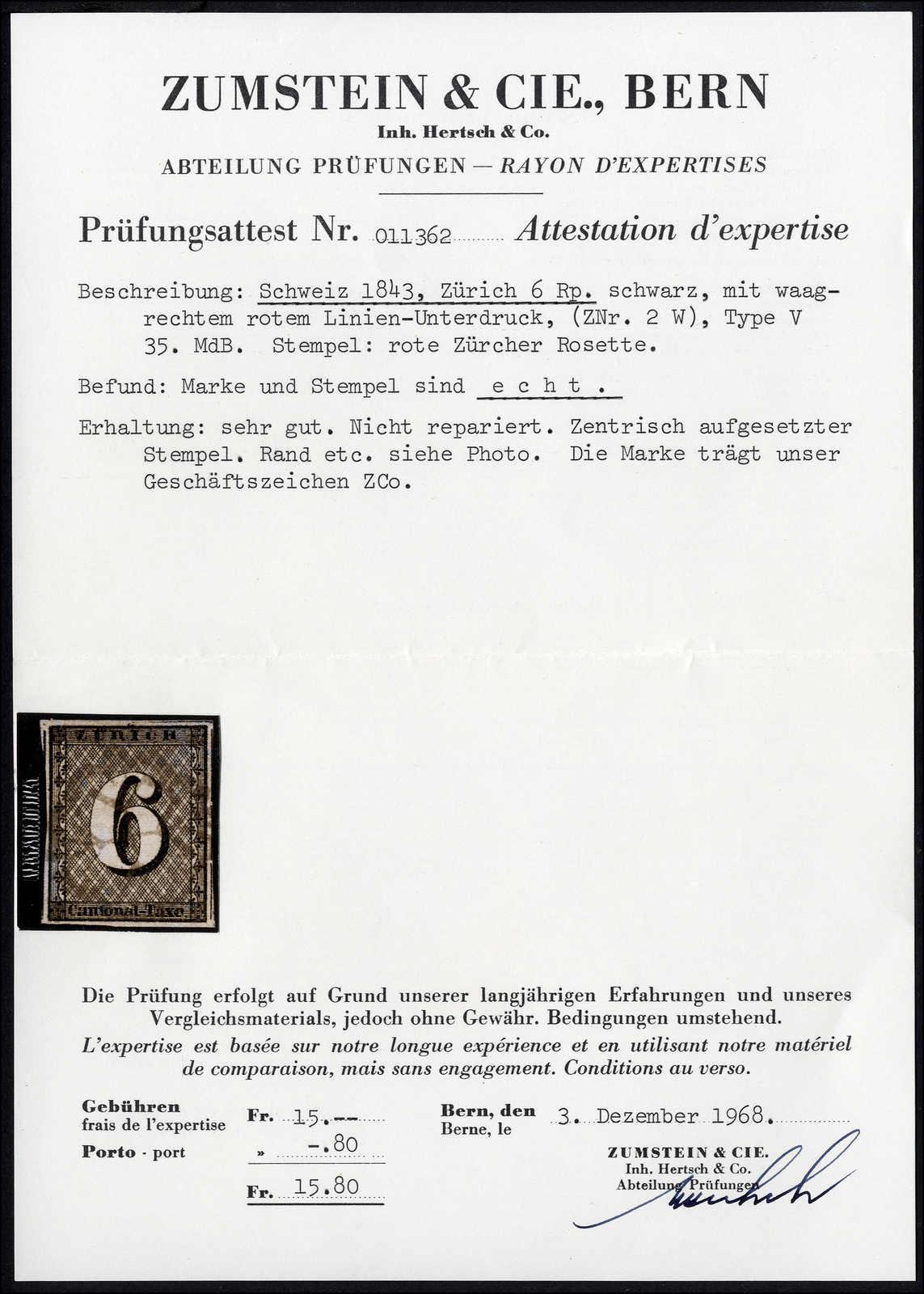 Lot 999 - schweiz schweiz kantone zürich -  Rolli Auctions Auction #68 Day 2