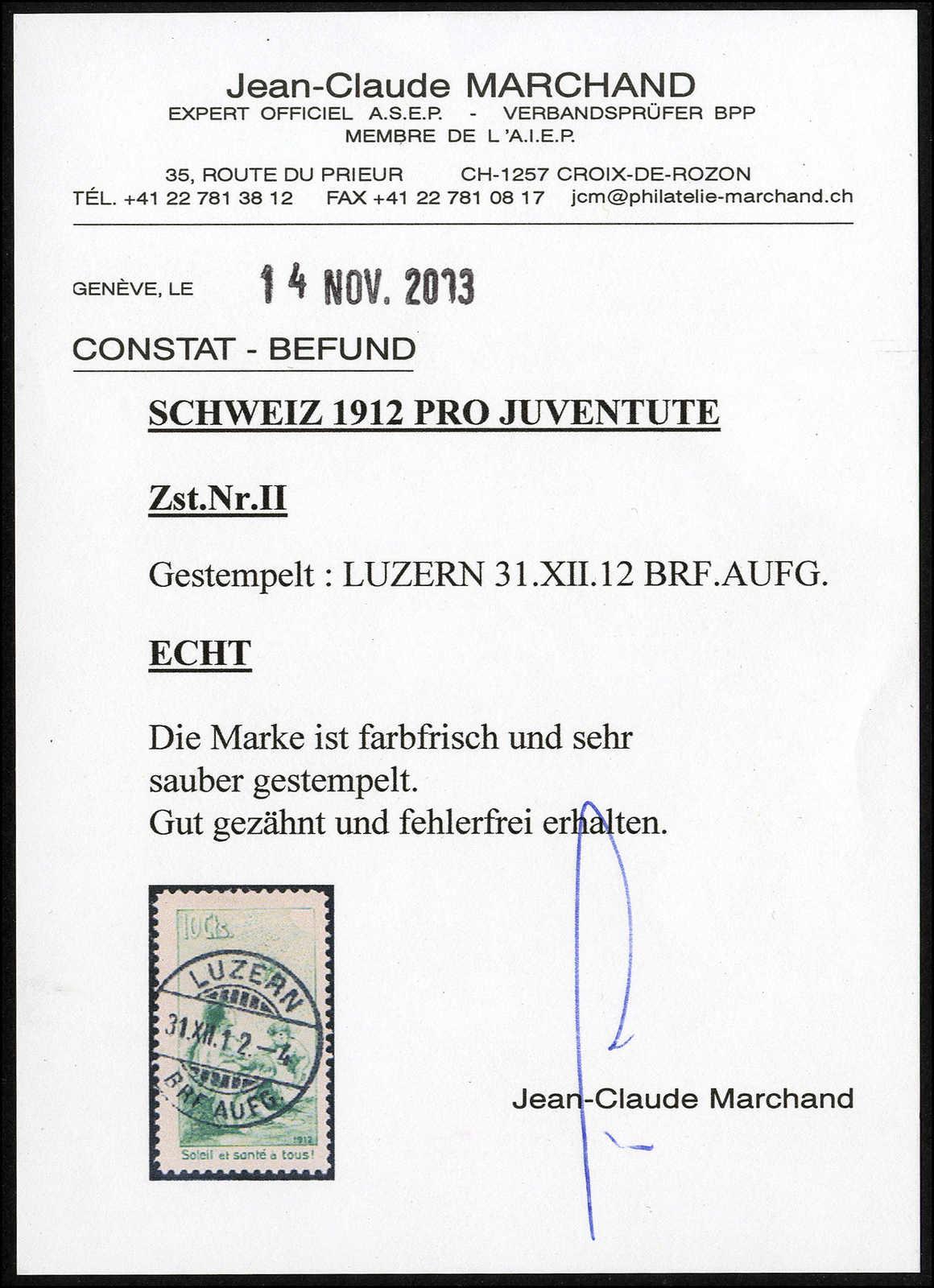 Lot 192 - schweiz schweiz pro juventute -  Rolli Auctions Auction #68 Day 1