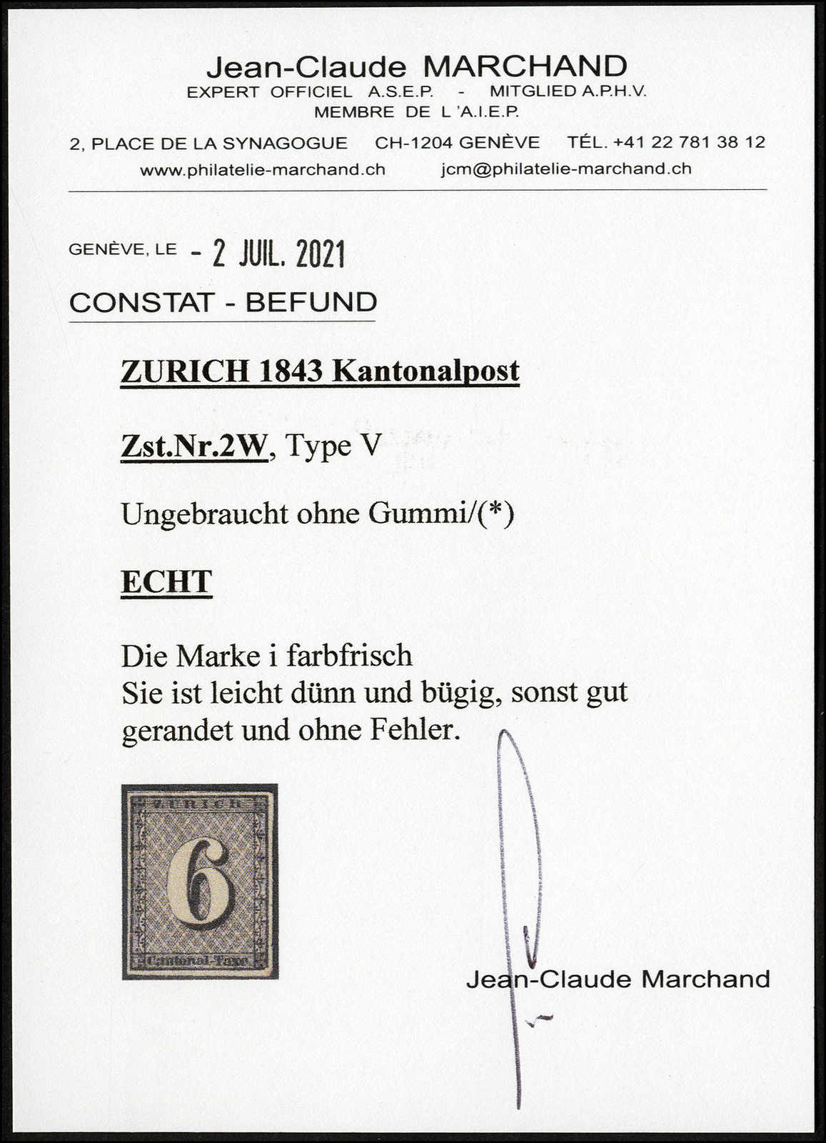 Lot 998 - schweiz schweiz kantone zürich -  Rolli Auctions Auction #68 Day 2