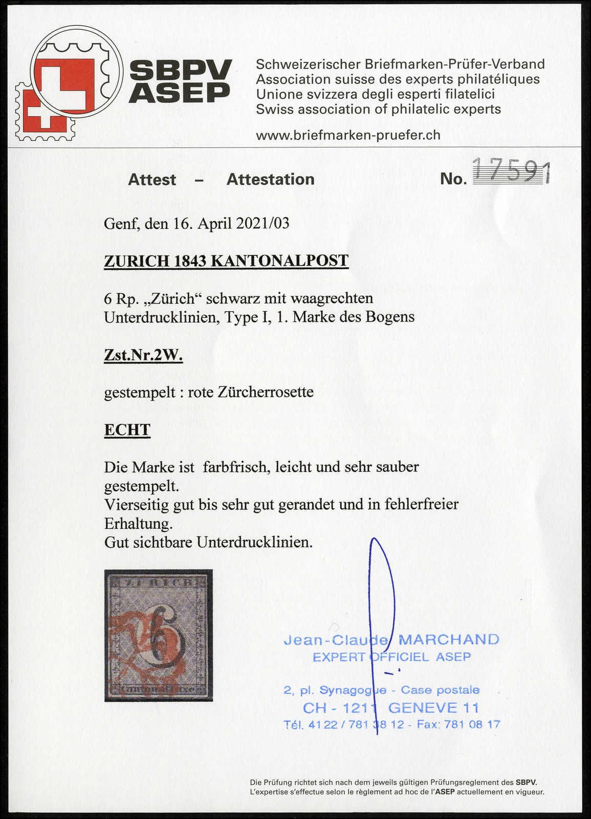 Lot 997 - schweiz schweiz kantone zürich -  Rolli Auctions Auction #68 Day 2