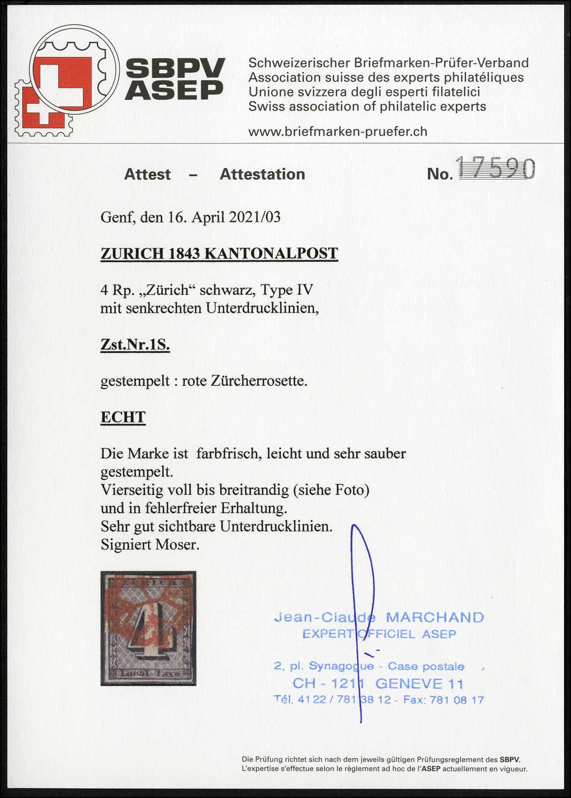 Lot 989 - schweiz schweiz kantone zürich -  Rolli Auctions Auction #68 Day 2