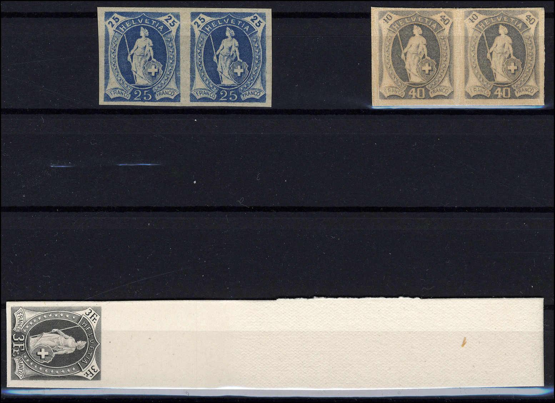Lot 4 - schweiz Schweiz Strubel -  Rolli Auctions Auction #68 Day 1