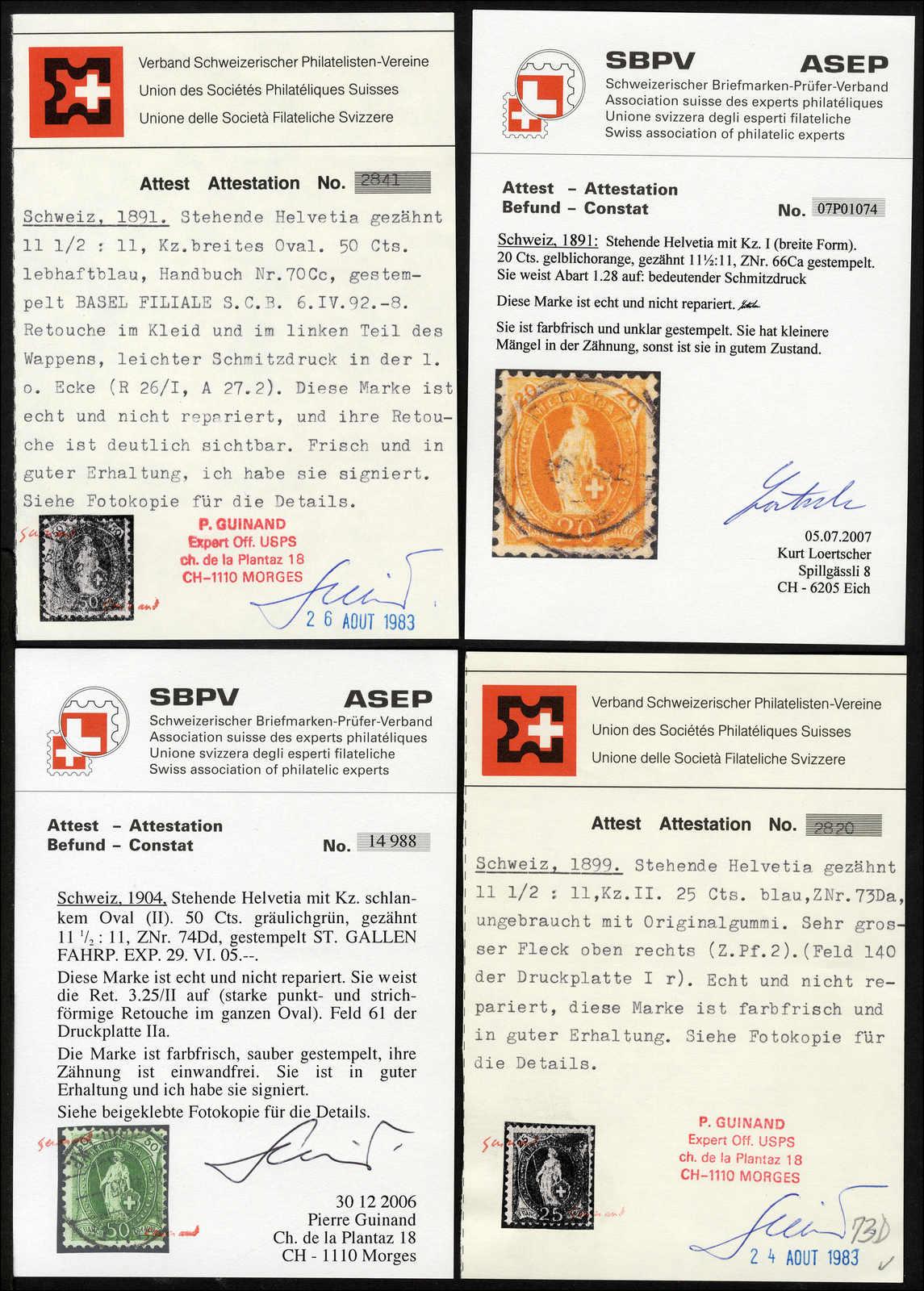 Lot 88 - schweiz schweiz -  Rolli Auctions Auction #68 Day 1
