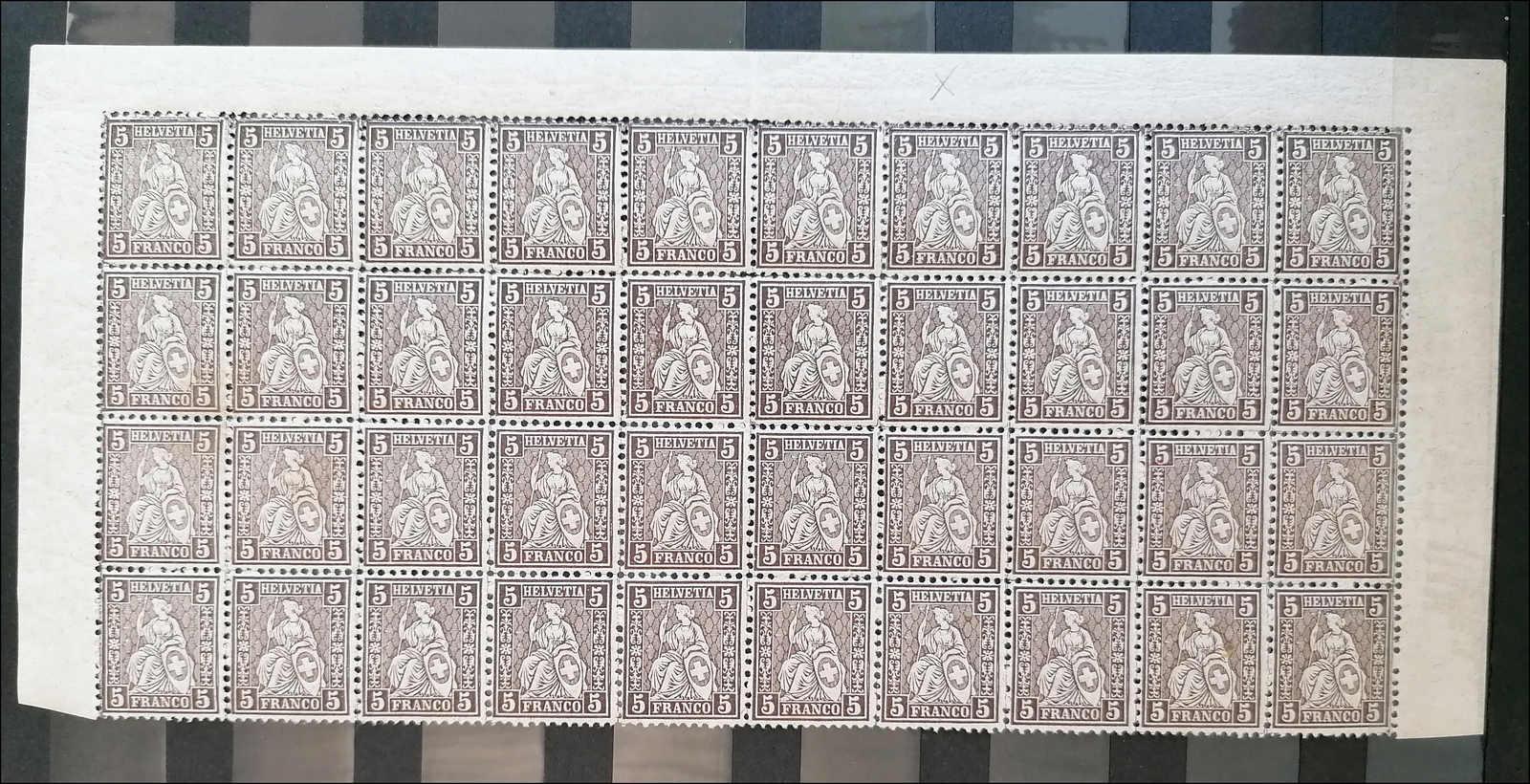 Lot 125 - schweiz Schweiz Strubel -  Rolli Auctions Auction #68 Day 1