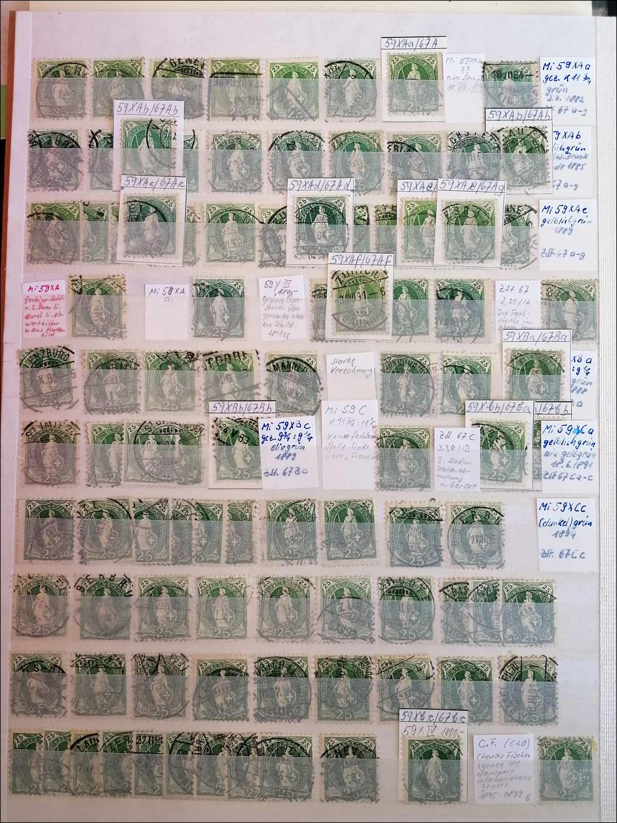 Lot 92 - schweiz schweiz -  Rolli Auctions Auction #68 Day 1