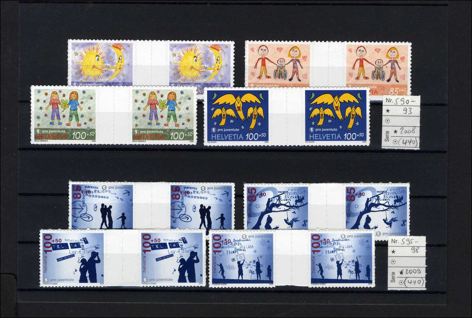 Lot 161 - schweiz schweiz pro juventute -  Rolli Auctions Auction #68 Day 1