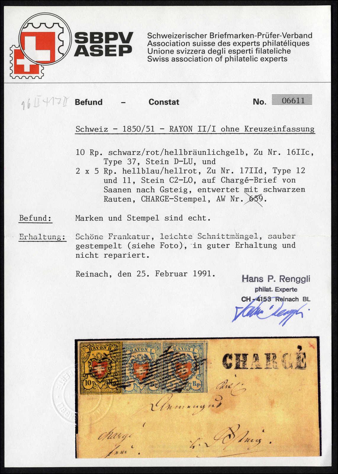 Lot 65 - sammlungen und posten sammlungen und posten altschweiz -  Rolli Auctions Auction #68 Day 1