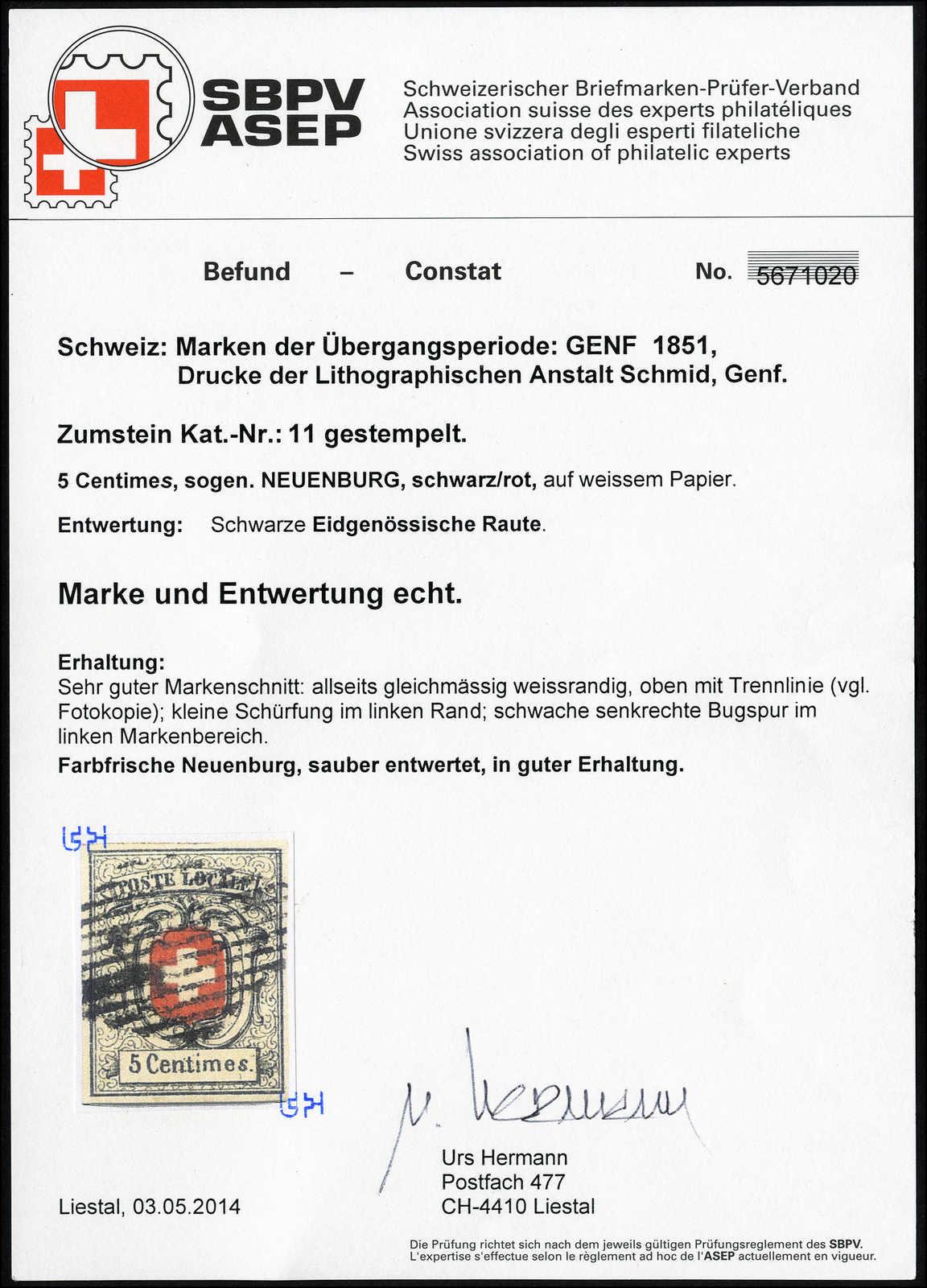Lot 5 - sammlungen und posten sammlungen und posten altschweiz -  Rolli Auctions Auction #68 Day 1