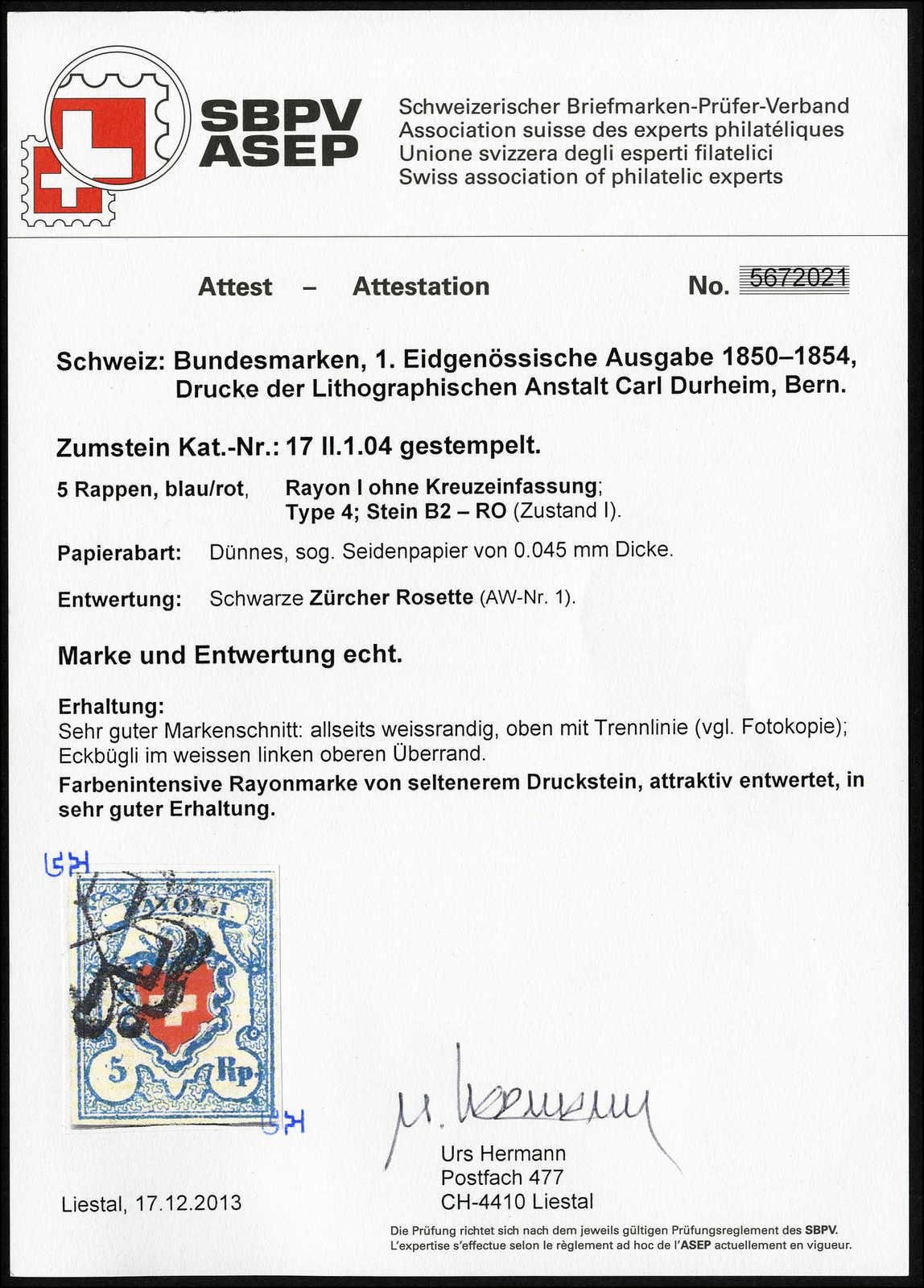 Lot 26 - sammlungen und posten sammlungen und posten altschweiz -  Rolli Auctions Auction #68 Day 1
