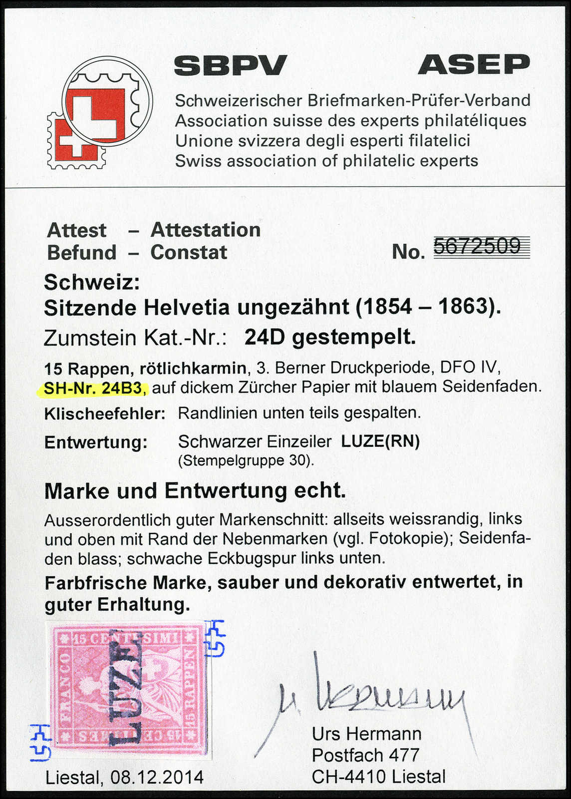 Lot 58 - sammlungen und posten sammlungen und posten altschweiz -  Rolli Auctions Auction #68 Day 1