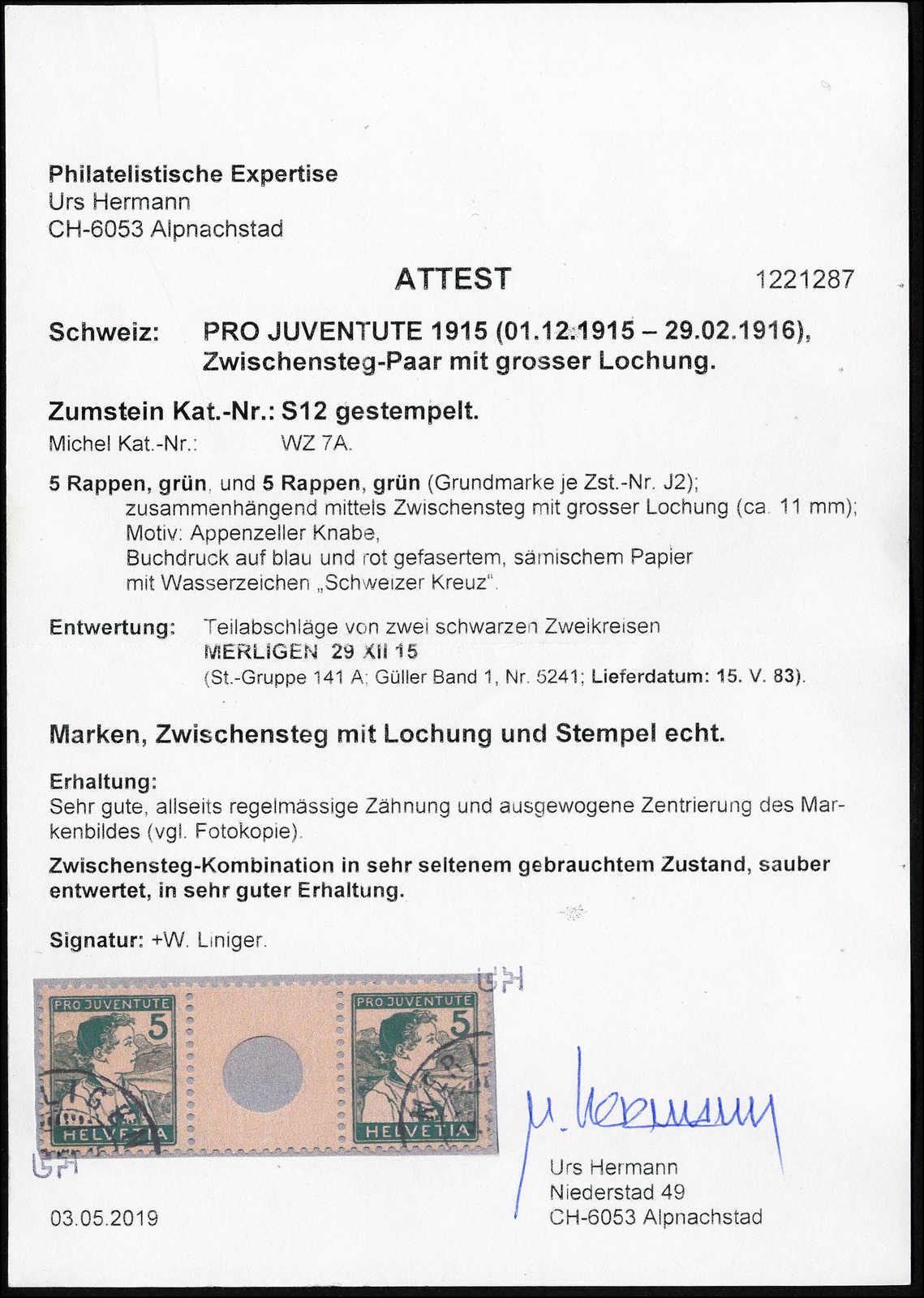 Lot 159 - schweiz schweiz pro juventute -  Rolli Auctions Auction #68 Day 1
