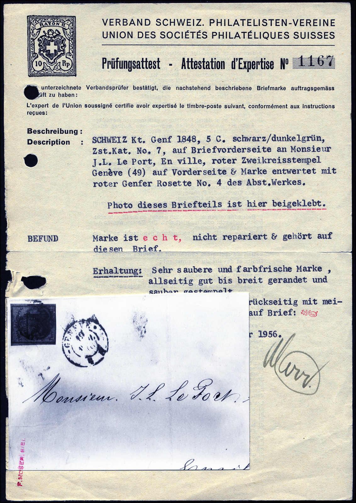 Lot 1011 - schweiz schweiz kantone genf -  Rolli Auctions Auction #68 Day 2