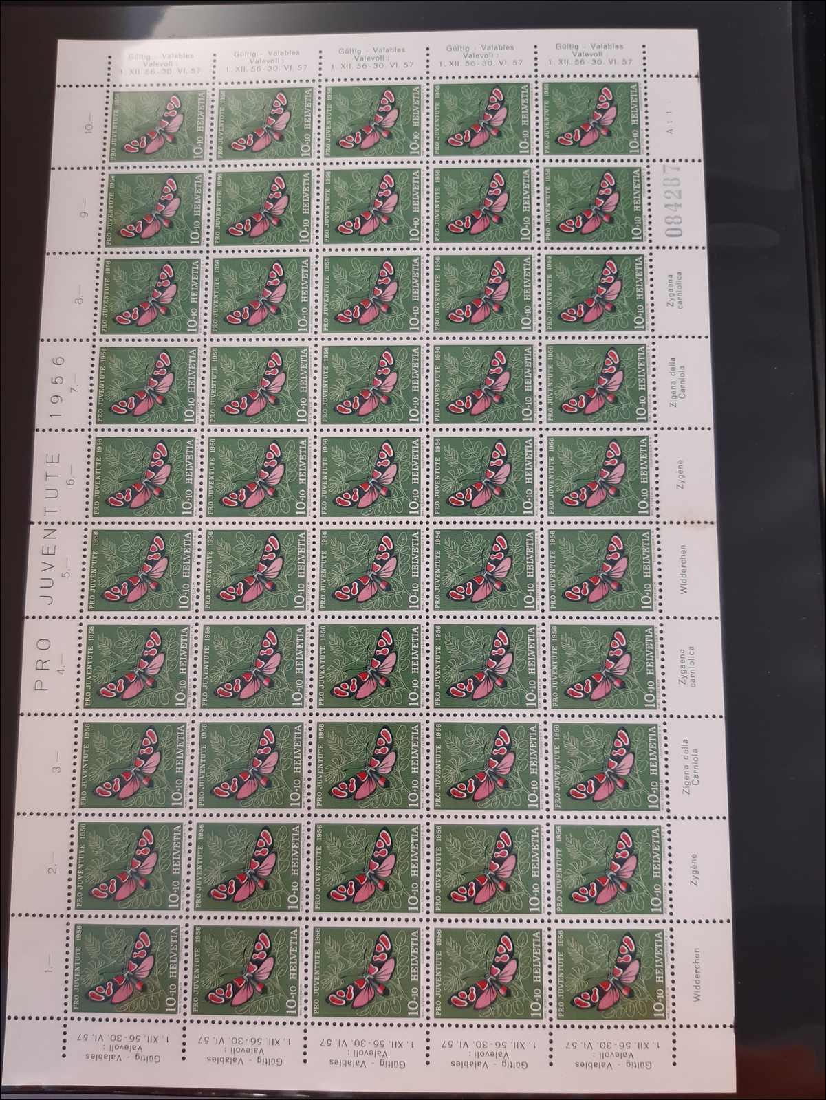 Lot 198 - schweiz schweiz pro juventute -  Rolli Auctions Auction #68 Day 1