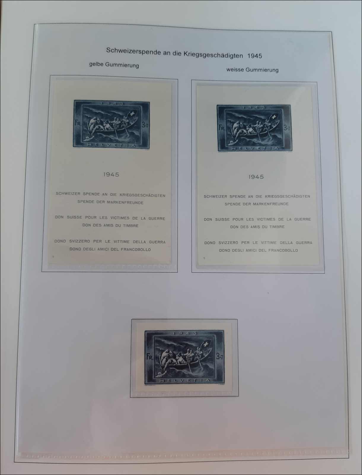 Lot 212 - schweiz Schweiz Blöcke -  Rolli Auctions Auction #68 Day 1