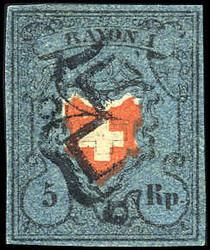 5655095: Rayon I, dunkelblau mit Kreuzeinfassung