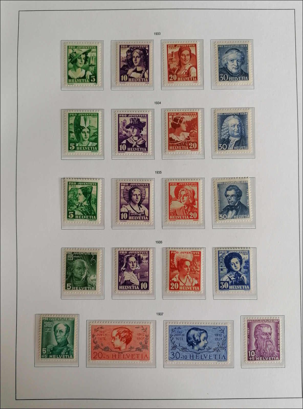 Lot 194 - schweiz schweiz pro juventute -  Rolli Auctions Auction #68 Day 1