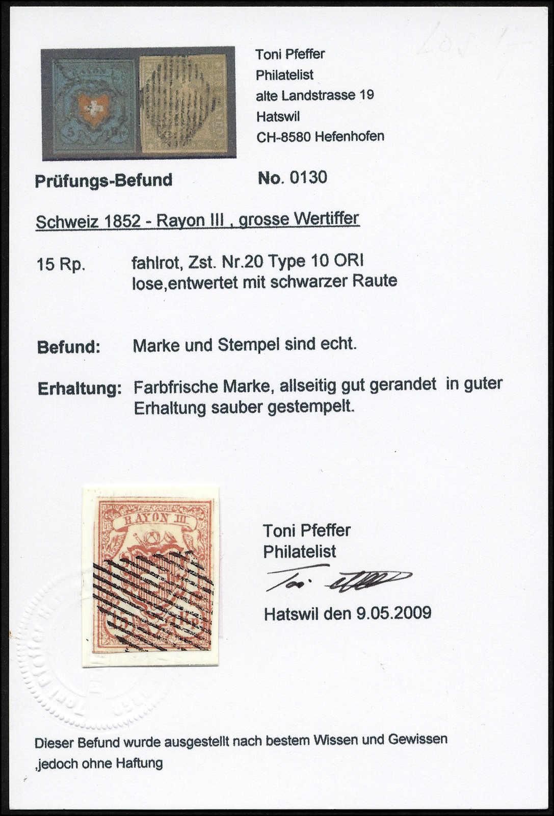 Lot 27 - sammlungen und posten sammlungen und posten altschweiz -  Rolli Auctions Auction #68 Day 1