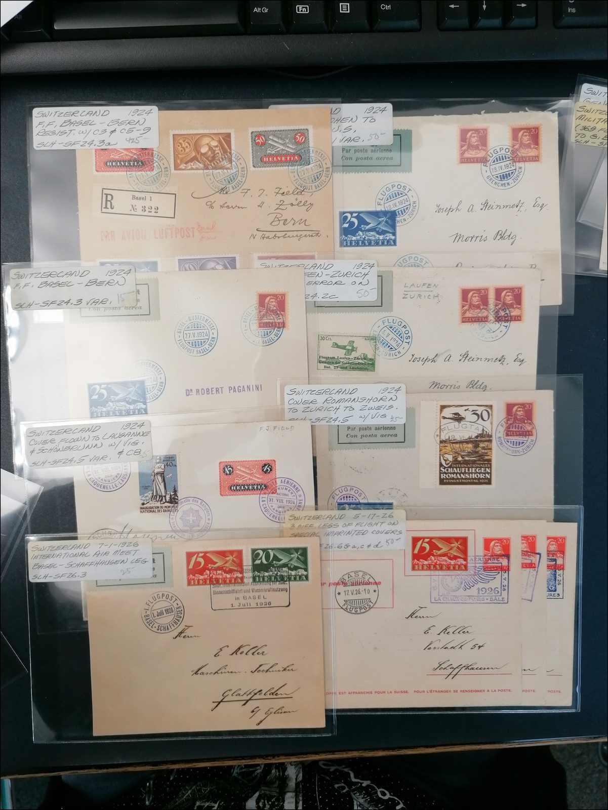 Lot 181 - schweiz schweiz -  Rolli Auctions Auction #68 Day 1