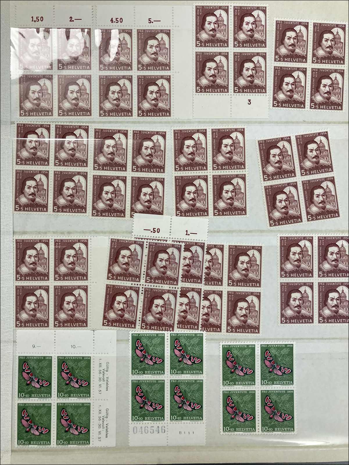 Lot 191 - schweiz schweiz pro juventute -  Rolli Auctions Auction #68 Day 1