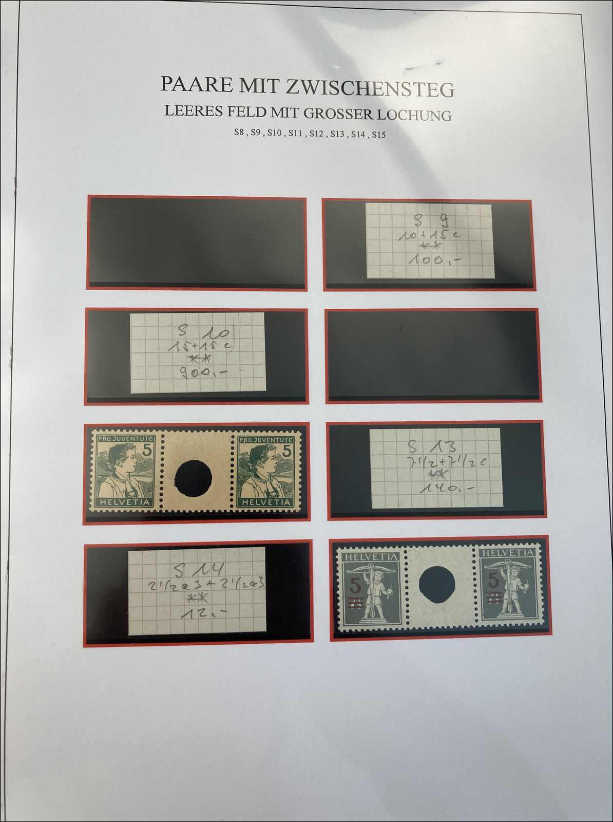 Lot 157 - schweiz Schweiz Freimarken nach 1907 -  Rolli Auctions Auction #68 Day 1