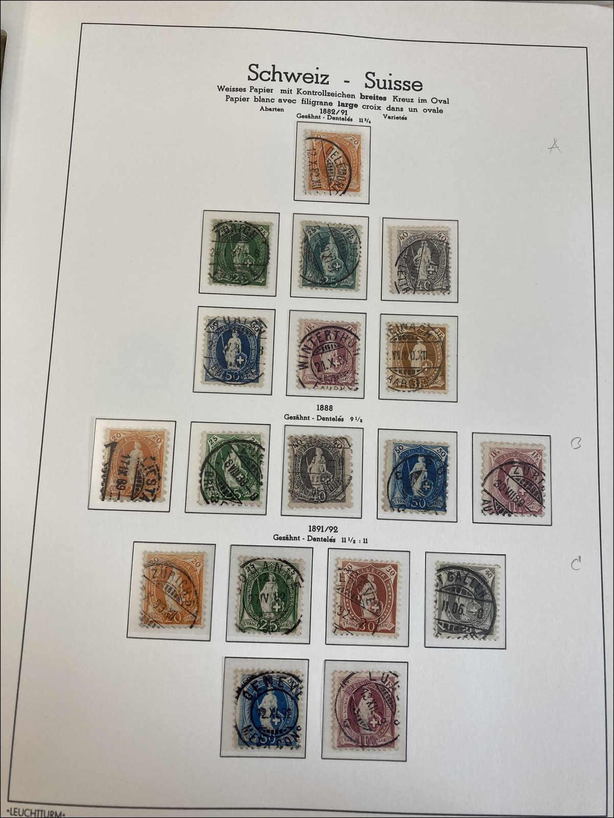 Lot 127 - schweiz schweiz -  Rolli Auctions Auction #68 Day 1
