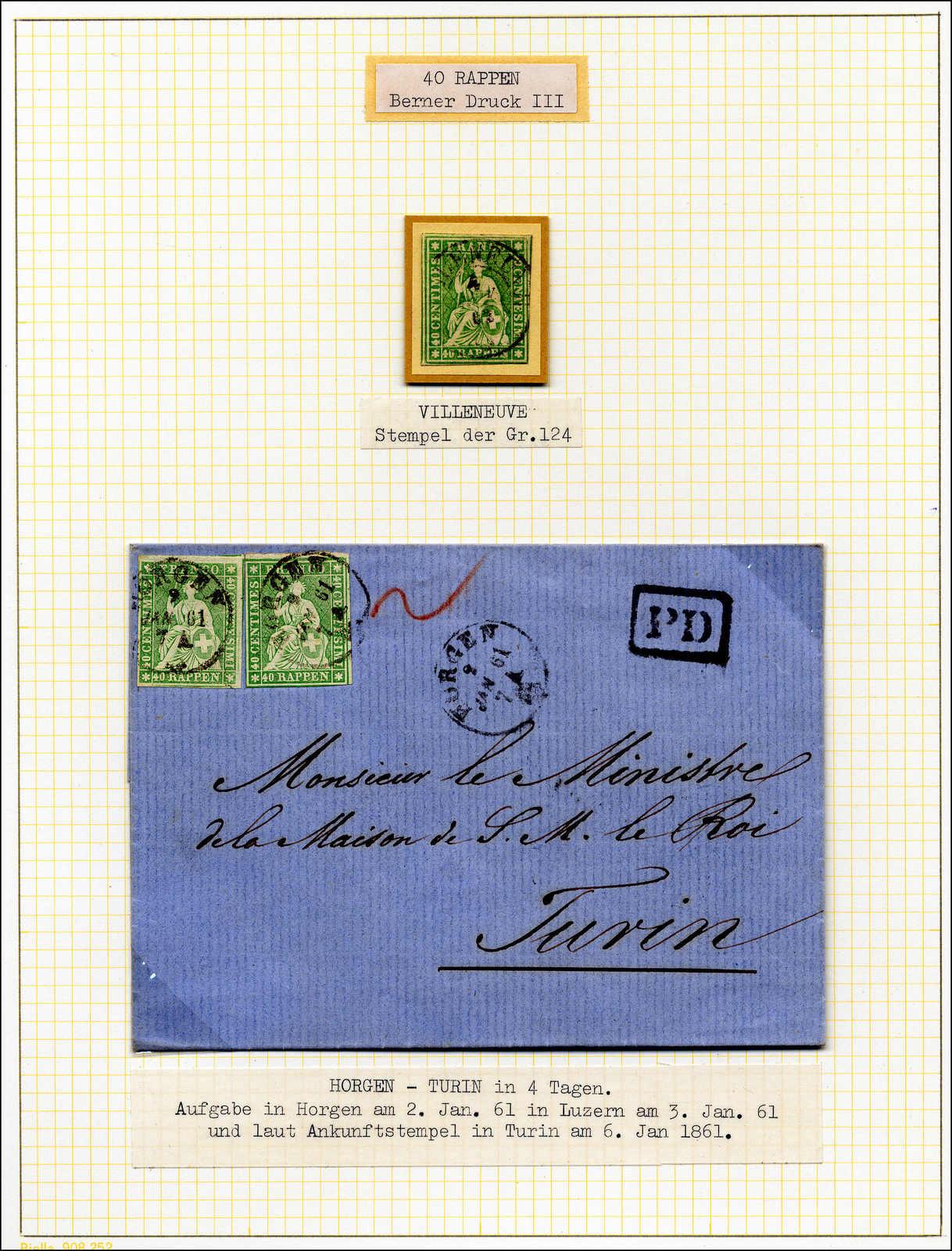Lot 59 - sammlungen und posten sammlungen und posten altschweiz -  Rolli Auctions Auction #68 Day 1