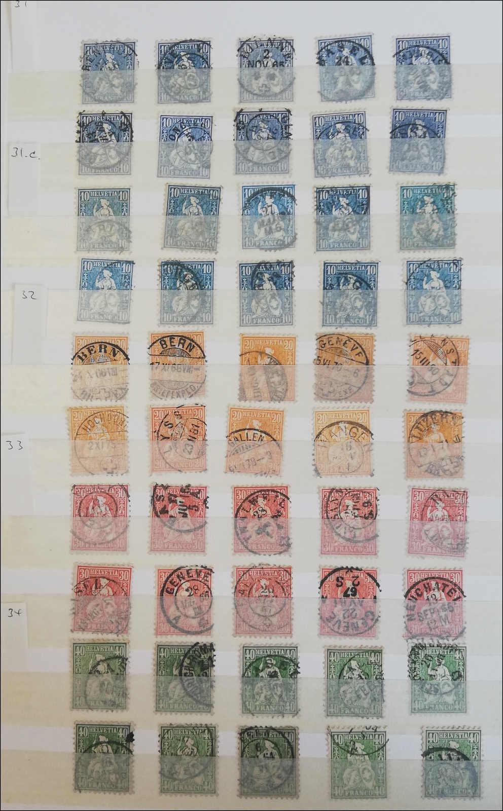 Lot 133 - schweiz schweiz -  Rolli Auctions Auction #68 Day 1