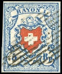 340.521: Rayons I hellblau, Stein B1