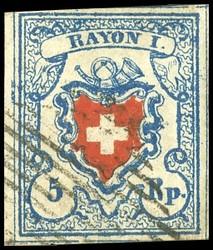340.523: Rayons I hellblau, Stein B3