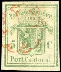 5645: Schweiz Kantone Genf - Ganzsachen