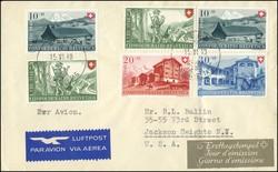 5665: Schweiz Dienstmarken für Bundesbehörden - Briefe Posten