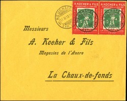 5712: Switzerland Kocher stamps
