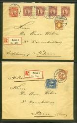 5625: Schweden - Briefe Posten