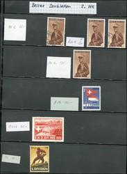 5711: Schweiz Soldatenmarken - Engros