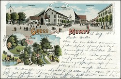 5655055: Kanton Aargau - Postkarten