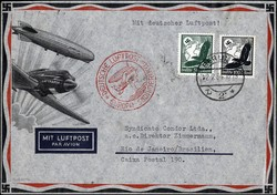 448085: Luftfahrt, Flugpost, Katapultpost Nordatlantik