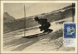 782510: Sport u. Spiel, Olympia, 1948 St. Moritz