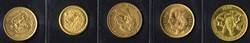 100.80.10: Multiple Lots - Coins - Gold Bullion World Coins