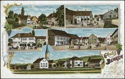 190260: Suisse, Canton de Zurich - Picture postcards