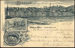 190120: Suisse, Canton de Lucerne - Picture postcards